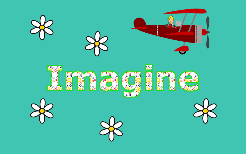 Imagine by John Lennon. One of the best songs