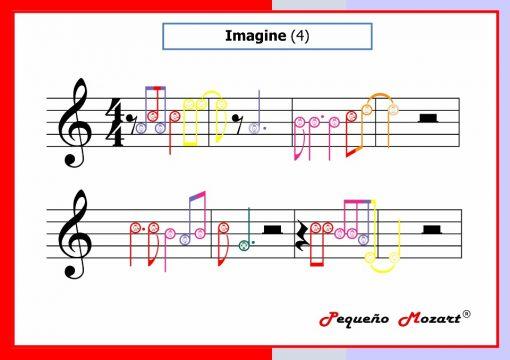 Imagine complete score