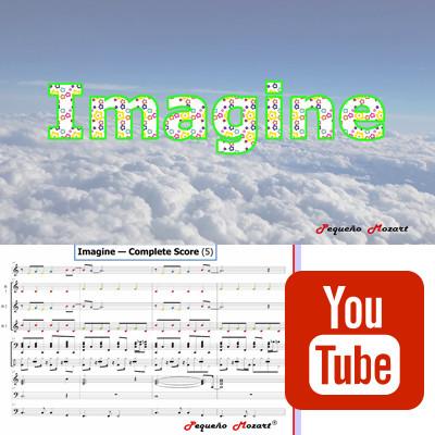 Imagine - Partitura para Boomwhackers y otros instrumentos