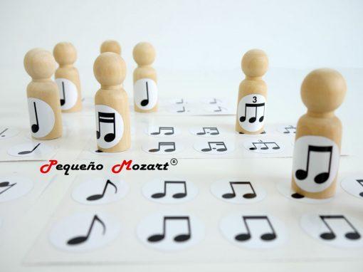 Pegatinas figuras musicales Pequeño Mozart 31
