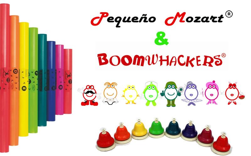 Método de educación musical Pequeño Mozart integra el uso de Boomwhackers y campanas Chroma-notes