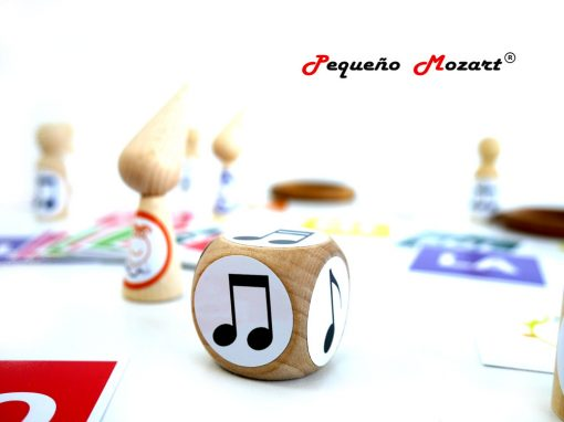 Dados figuras musicales Pequeño Mozart 3