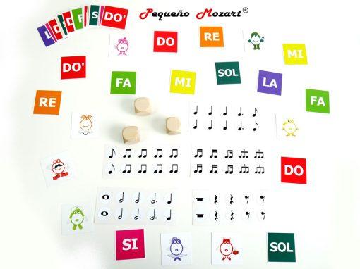 Pack figuras y notas musicales Pequeño Mozart 1