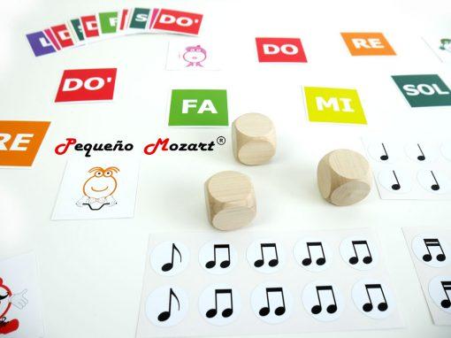 Pack figuras y notas musicales Pequeño Mozart 2
