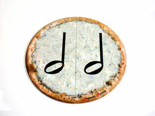 blanca-pizza puzzle pequeño mozart