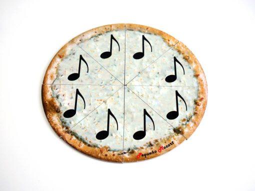 corchea-pizza puzzle pequeño mozart