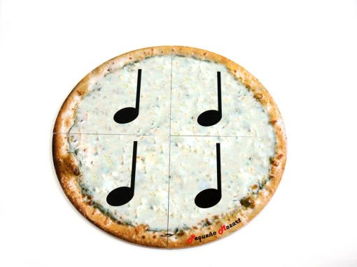 negras-pizza puzzle pequeño mozart