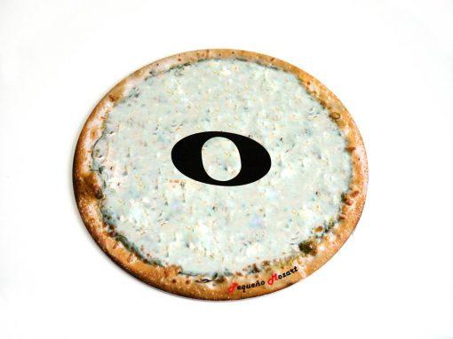 redonda-pizza puzzle pequeño mozart