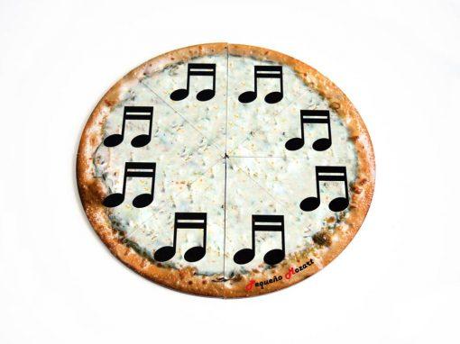 semicorchea-pizza puzzle pequeño mozart