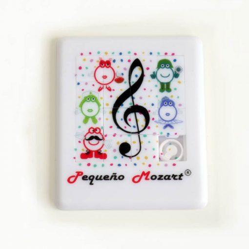 Puzzle deslizante Clave de Sol Pequeño Mozart