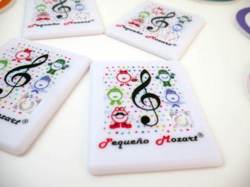 Puzzle deslizante Clave de Sol Pequeño Mozart 3