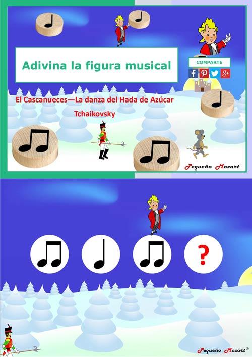 Adivina la figura musical - El cascanueces