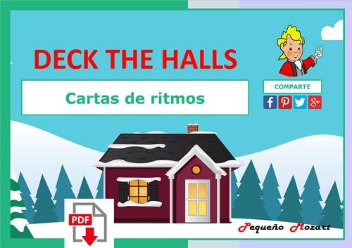 Ritmo Deck the Halls - Pequeño Mozart
