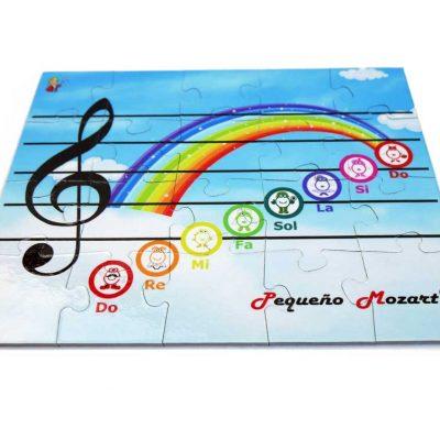 Puzzle Escala Musical Pequeno Mozart 1