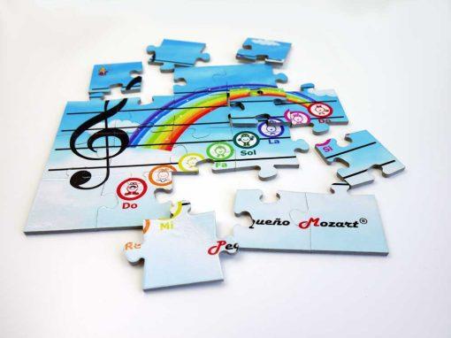 Puzzle Escala Musical Pequeno Mozart 2