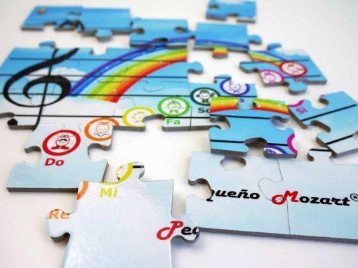 Puzzle Escala Musical Pequeno Mozart 3