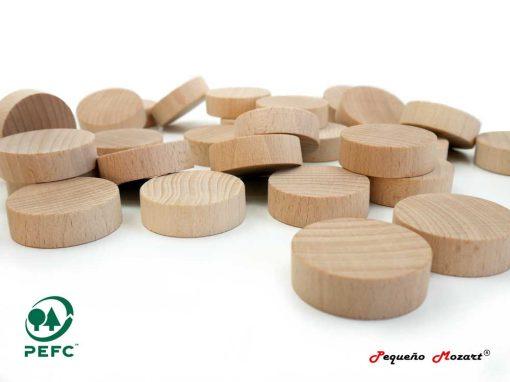monedas madera pequeno mozart