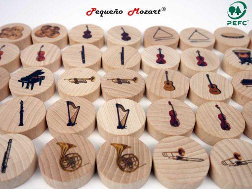 Instrumentos musicales Memory - Pequeño Mozart 1