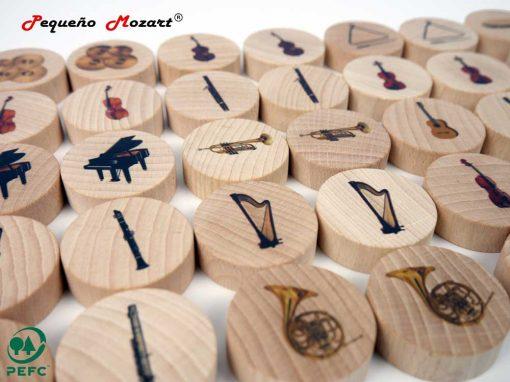Instrumentos musicales Memory - Pequeño Mozart 10