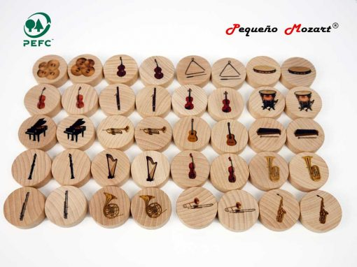 Instrumentos musicales Memory - Pequeño Mozart 14