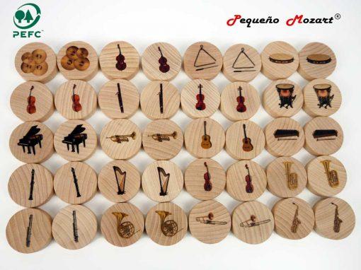 Instrumentos musicales Memory - Pequeño Mozart 5