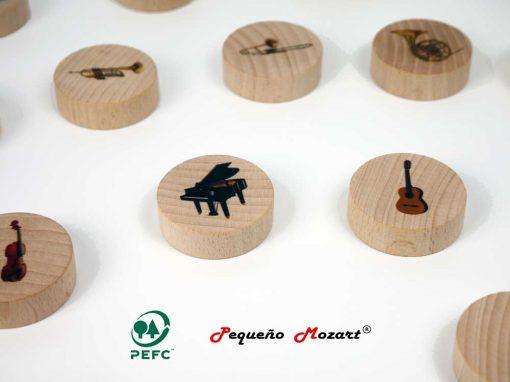 Instrumentos musicales Memory - Pequeño Mozart 7