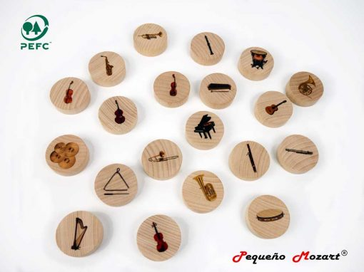 Instrumentos musicales Memory - Pequeño Mozart 9