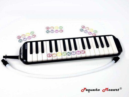 Pegatinas melódica Pequeno Mozart 1
