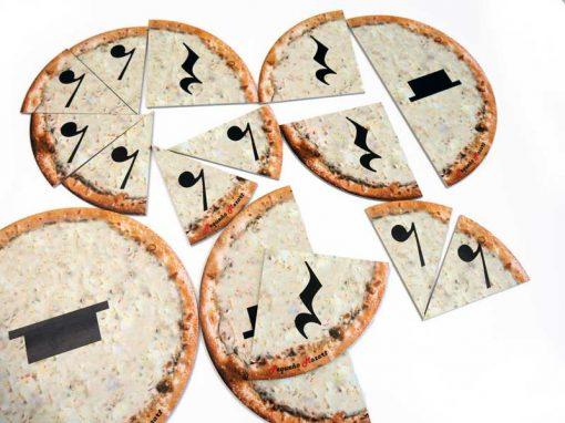 Pizza puzzle silencios musicales pequeno mozart 4