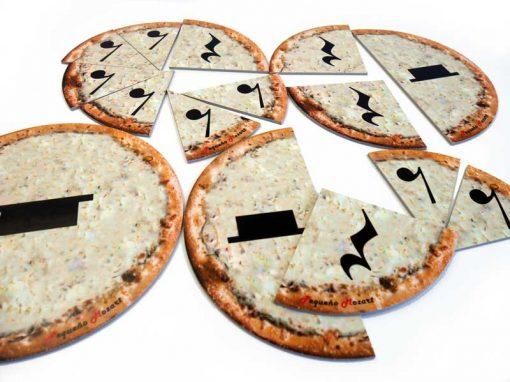 Pizza puzzle silencios musicales pequeno mozart 5