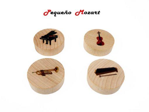 Familia de los instrumentos musicales Pequeño Mozart 2