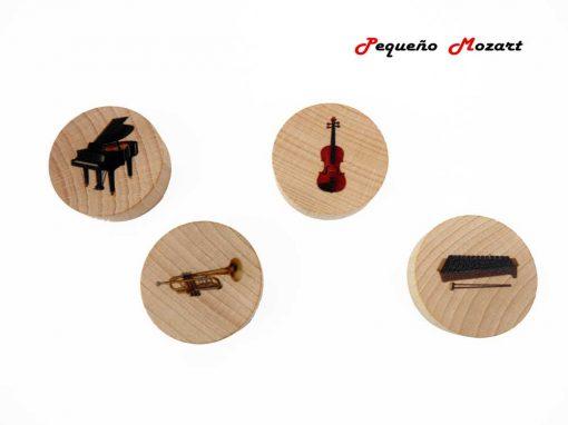Familia de los instrumentos musicales Pequeño Mozart 3