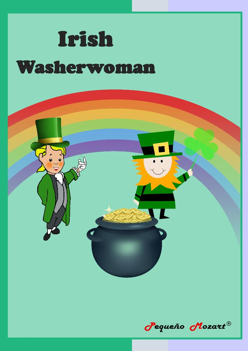 Irish washerwoman - Partitura Pequeño Mozart