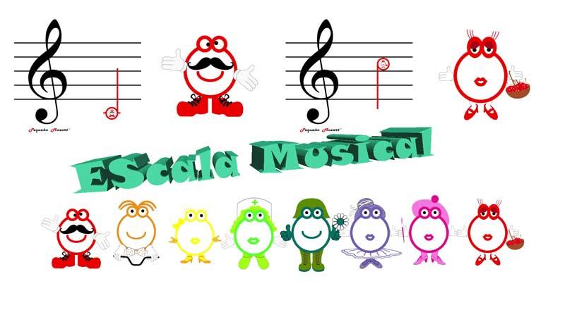 Escala Musical Pequeño Mozart