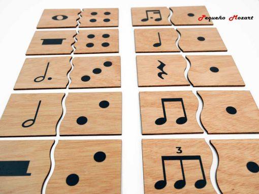 Encajes musicales Pequeño Mozart 1