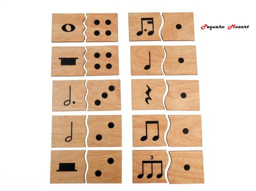 Encajes musicales Pequeño Mozart 3