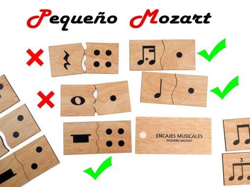 Encajes musicales Pequeño Mozart 4