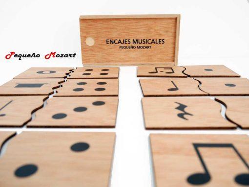 Encajes musicales Pequeño Mozart 5