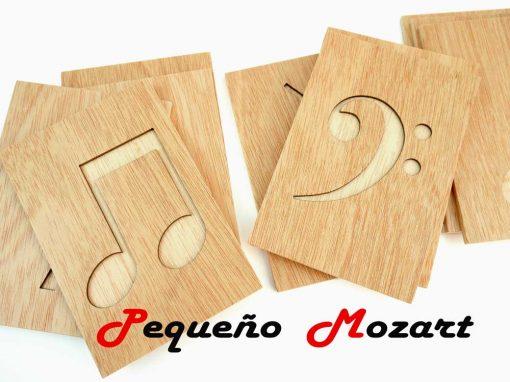 Trazos musicales Pequeño Mozart