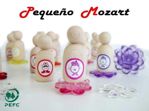 Peg Dolls Pequeño Mozart notas musicales 5
