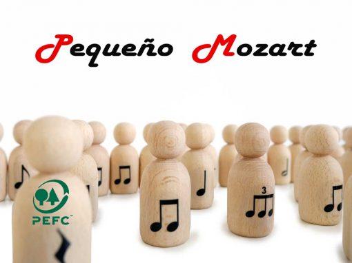 "Peg Dolls ""Pequeño Mozart"" con figuras musicales 5"