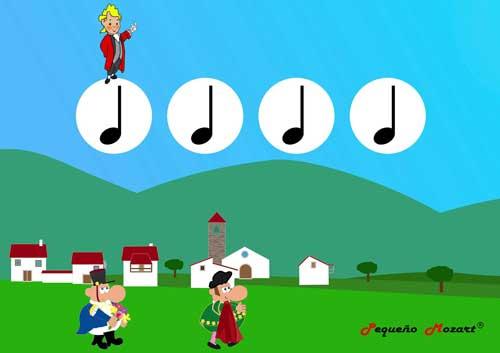 """Plantillas rítmicas """"Carmen"""", overture, Bizet. Pequeño Mozart"""