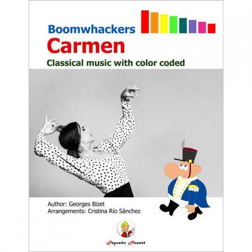 Carmen Bizet Boomwhackers Pequeño Mozart