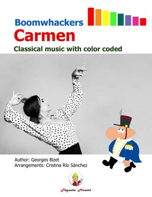 Boomwhackers Carmen - Libro de partituras