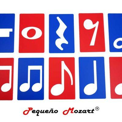 Plantillas musicales - figuras musicales - Pequeño Mozart 1