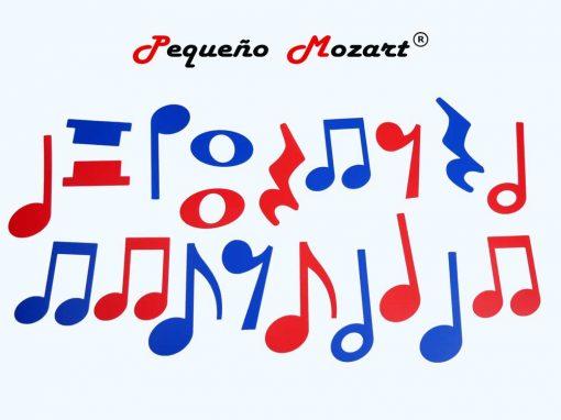Plantillas musicales - figuras musicales - Pequeño Mozart 2
