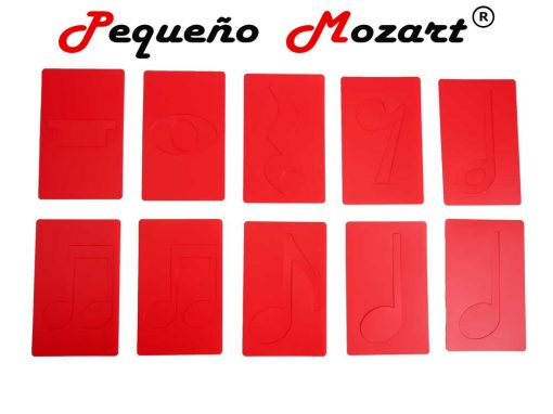 Plantillas musicales - figuras musicales - Pequeño Mozart 7