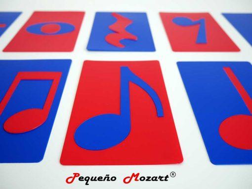 Plantillas musicales - figuras musicales - Pequeño Mozart 8