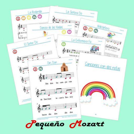 Las Canciones de Pequeño Mozart