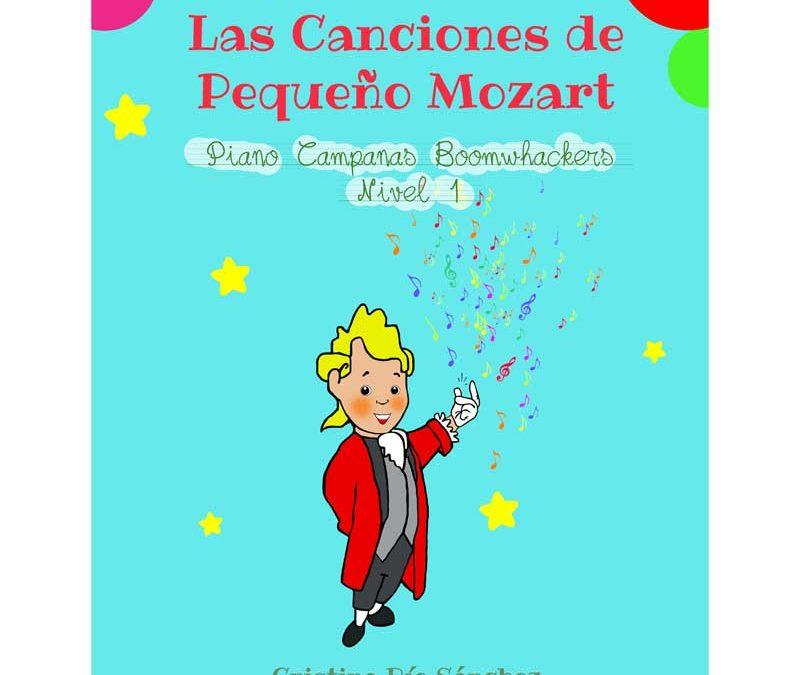 El libro con las canciones de Pequeño Mozart.